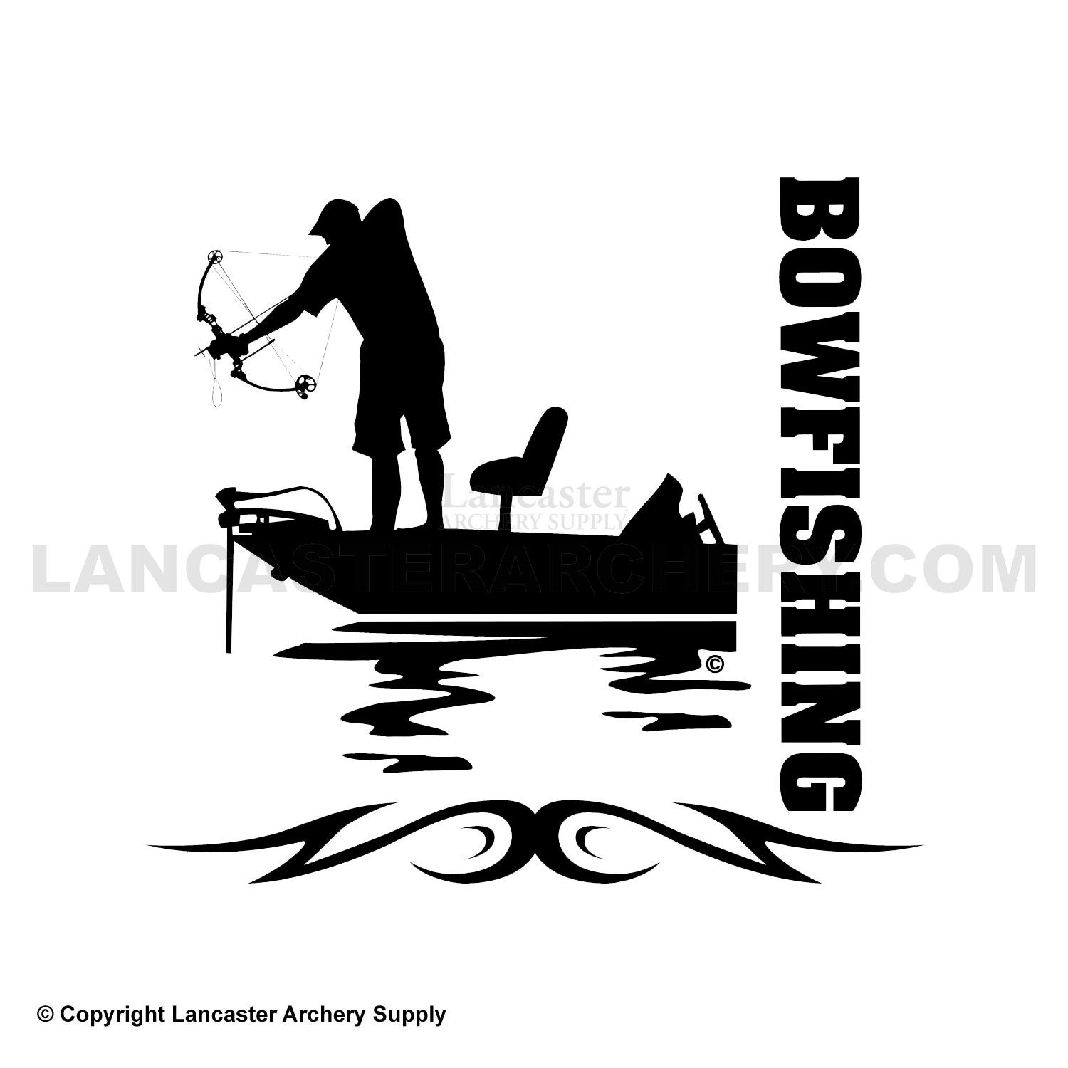 bowfishing decals outdoor decals bowfishing ideas