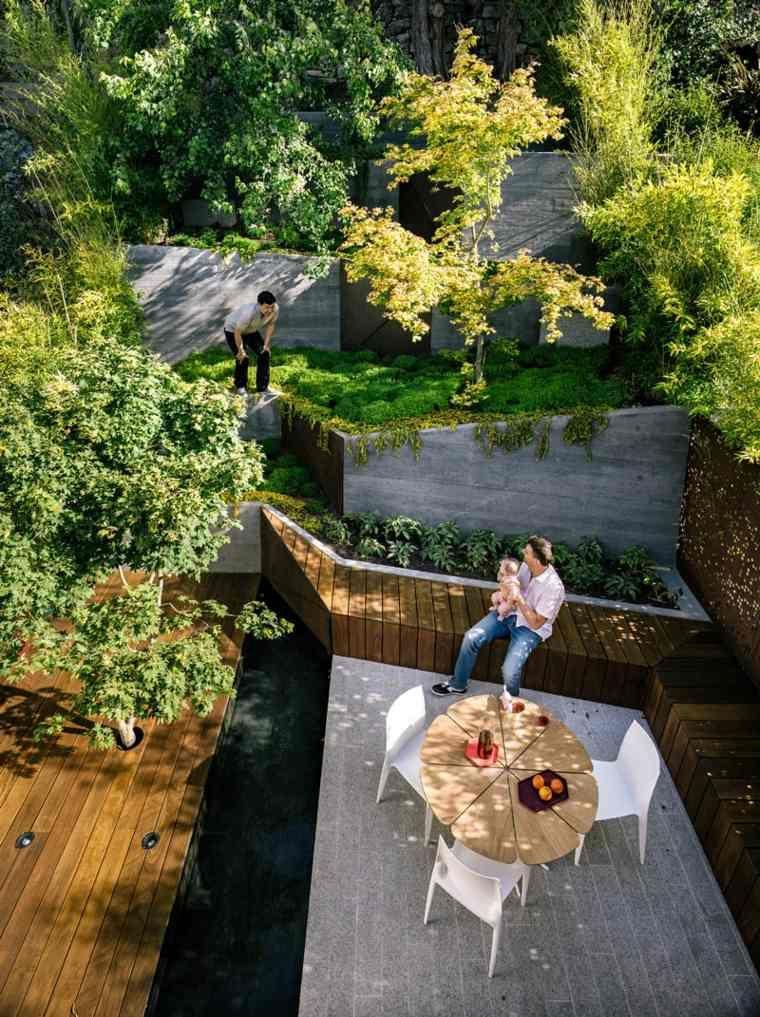 Jardin paysager zen inspiré par le design japonais | outdoor pitts ...