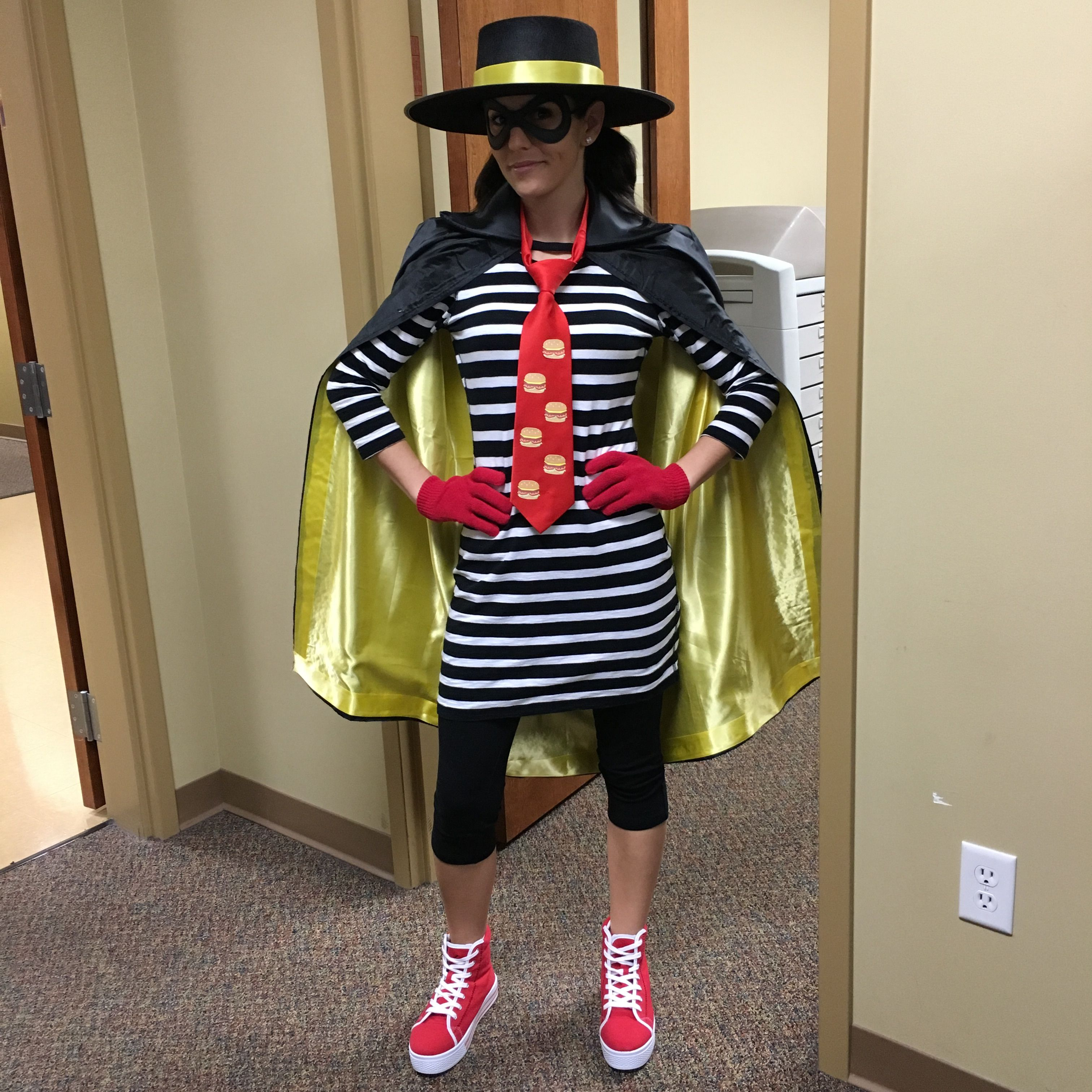 hamburglar halloween costume