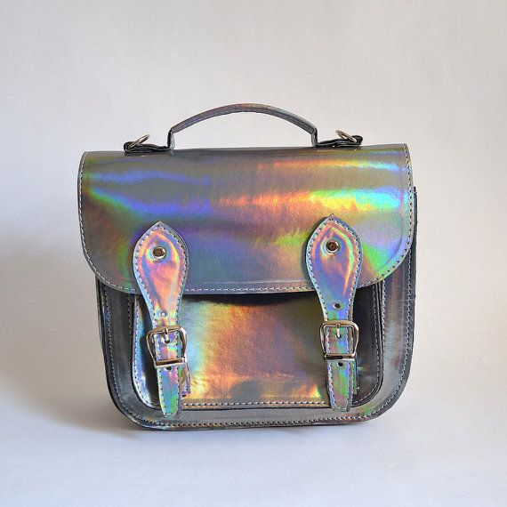 Bag number 3 Vegan nonleather satchel shoulder by goldenponies, $59.00
