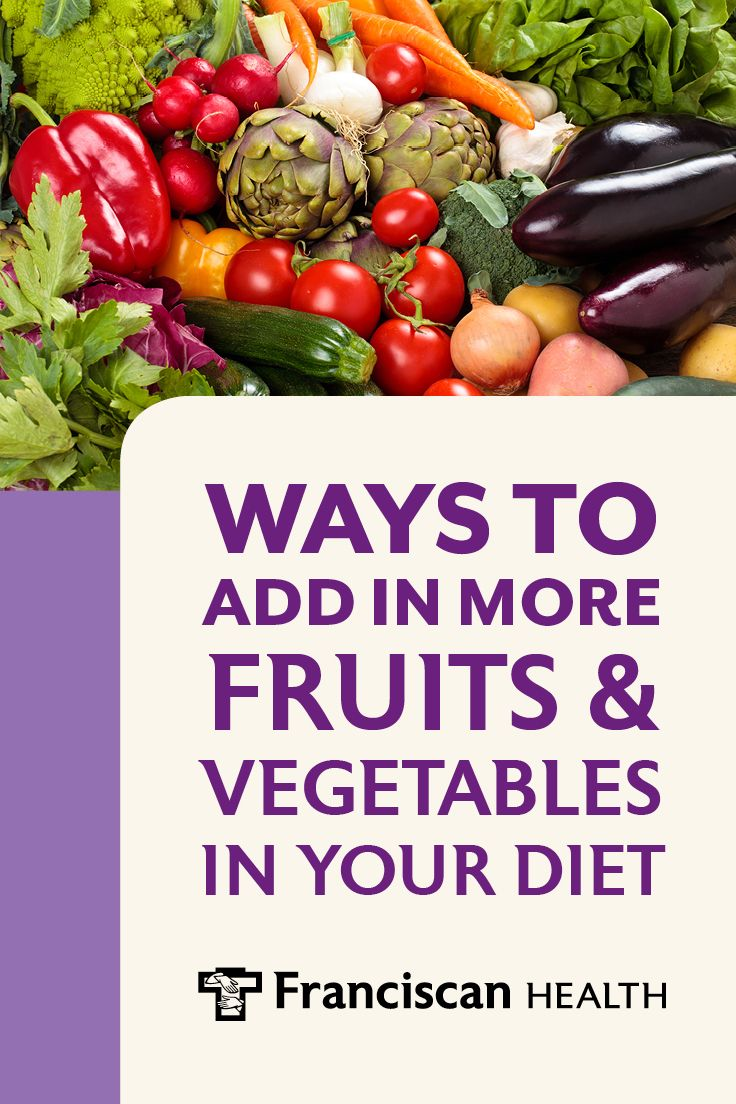 How many servings of fruits and vegetables do you consume