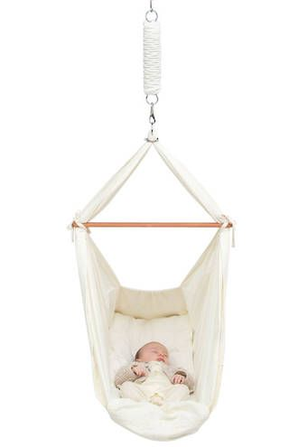 Medium image of baby hammock natures sway baby hammocks are created from natural cotton calico with a breathable wool mattress providing warmth in winter an