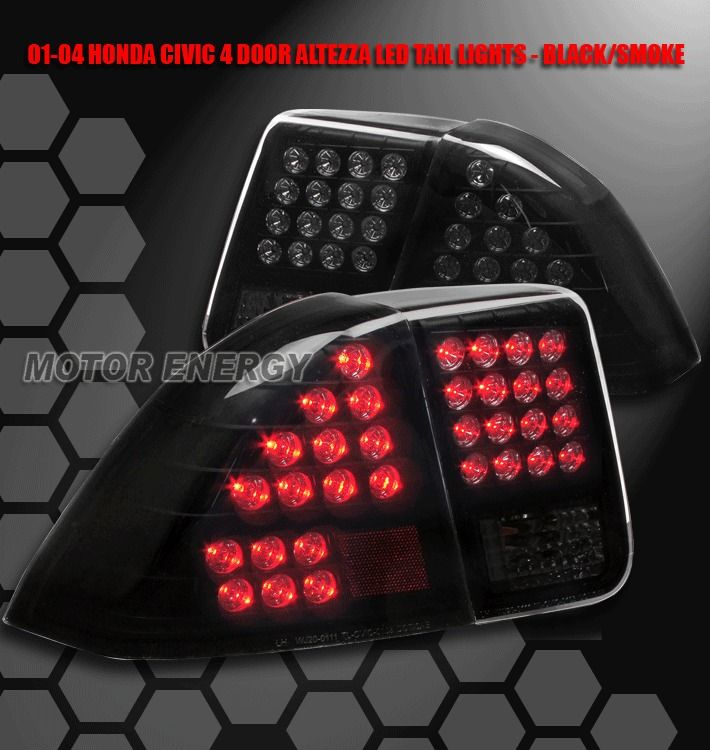 Details About 1999 2000 Honda Civic Altezza Tail Lights Lamp