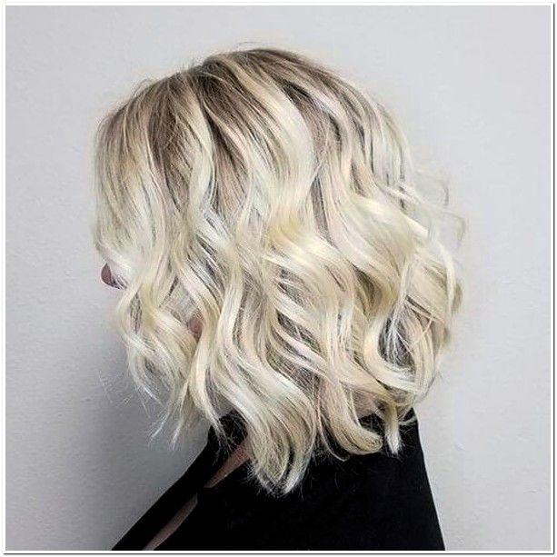 Frisuren mit platinblond