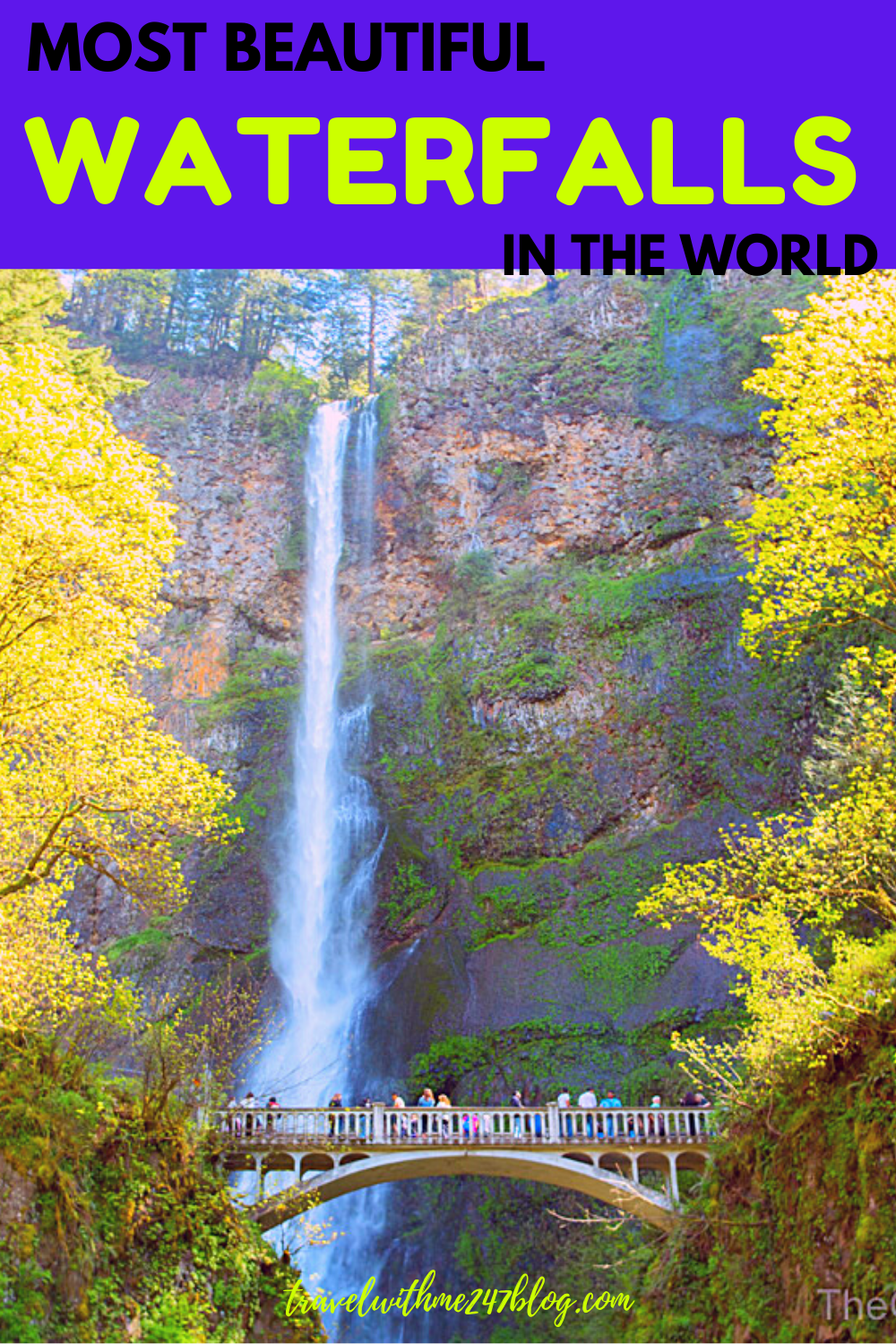 Most Beautiful Waterfalls In The World Waterfalls Pictures Travel With Me 24 X 7 Beautiful Waterfalls Waterfall Pictures Waterfall