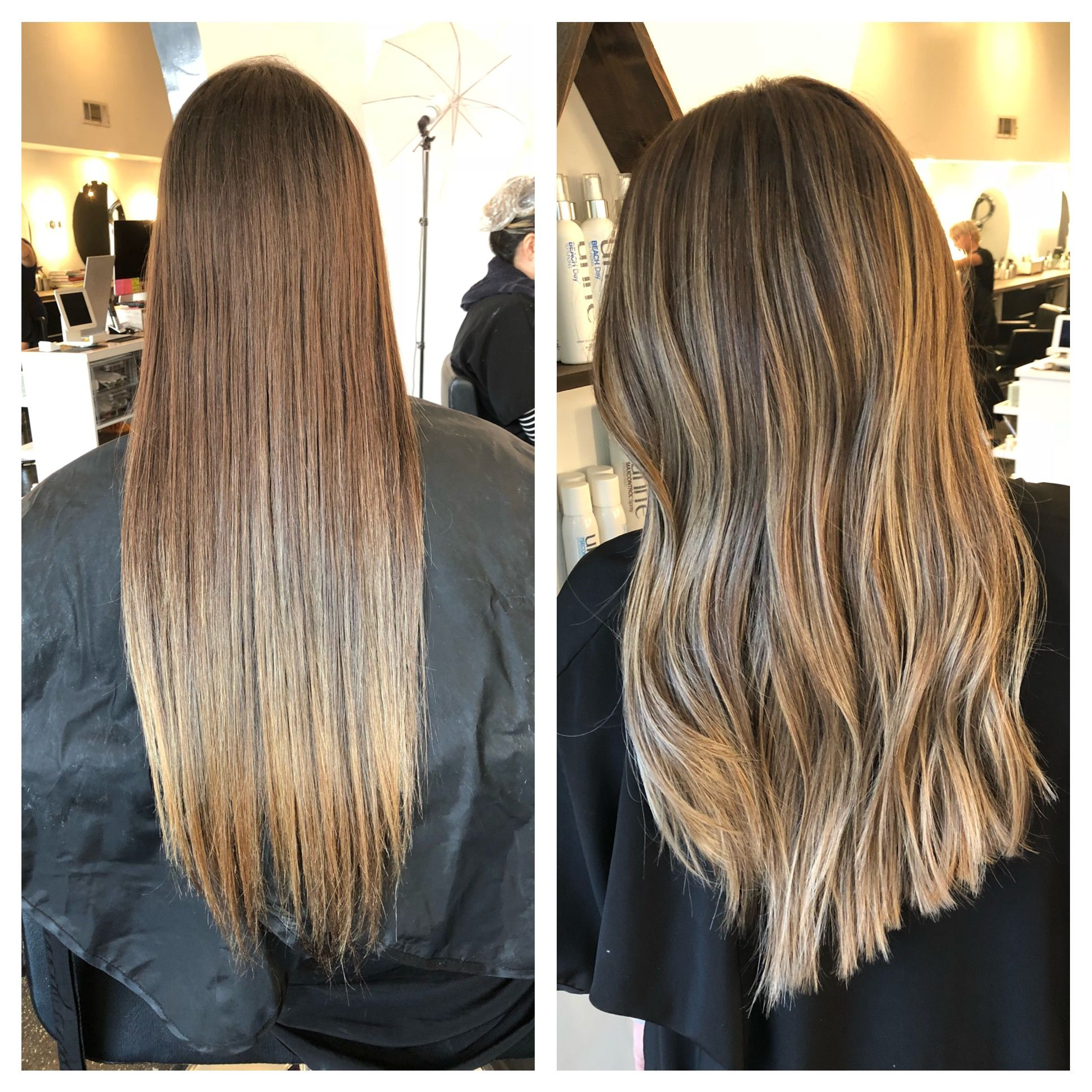 Balayage before and after hair ideas pinterest balayage