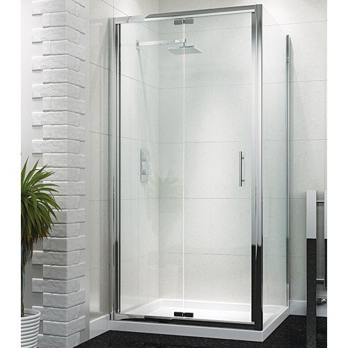 Forada 1400 Mm X 800 Mm Pivot Semi Frameless Bath Screen Bifold Shower Door Shower Doors Framed Shower Door