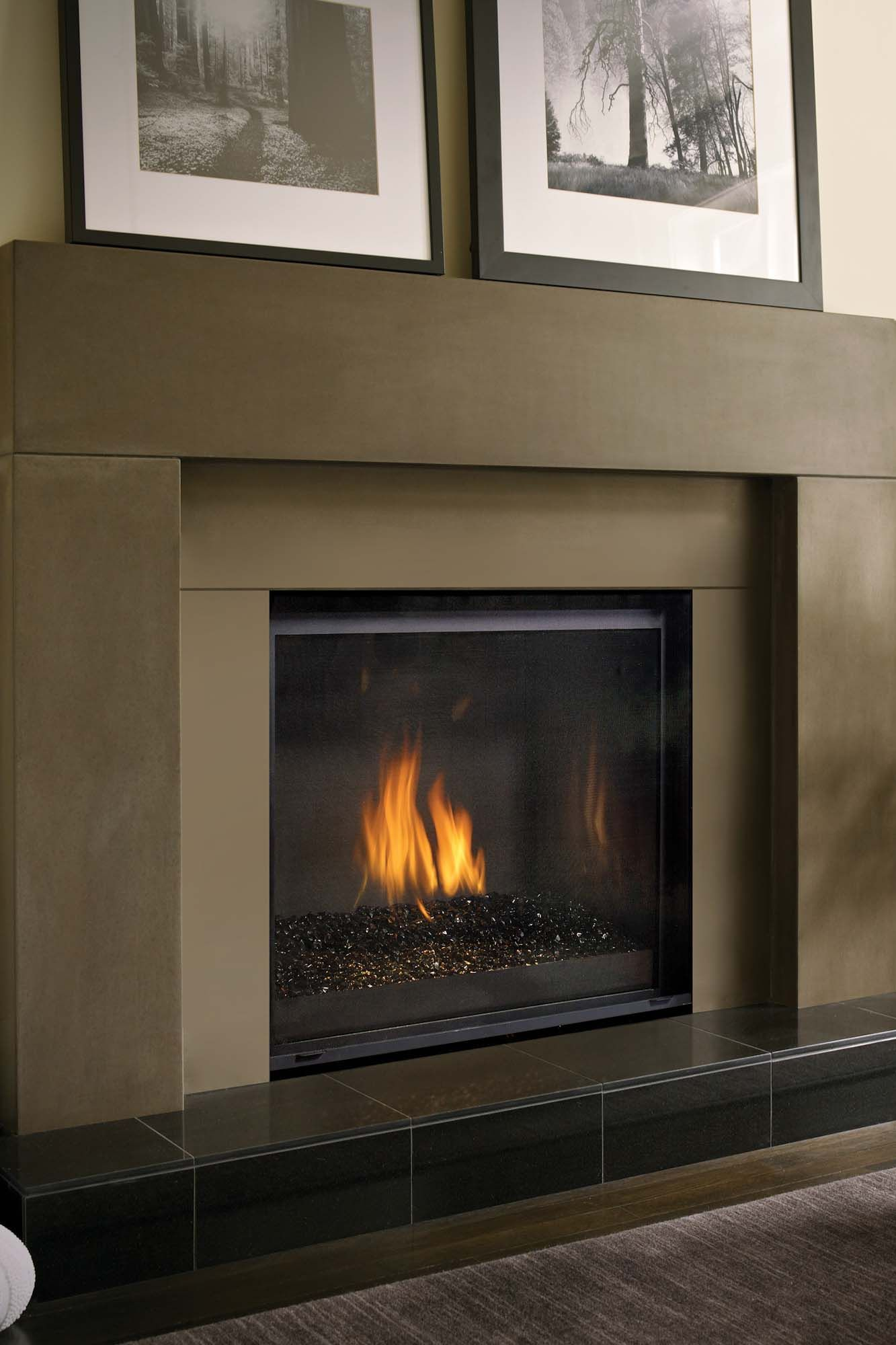 Choose Stunning Flame Picture Choose Your Accessories And Create A One Of A Kind Fireplace The Regency Grandview G800 Fireplace Gas Fireplace Fireplace Tile