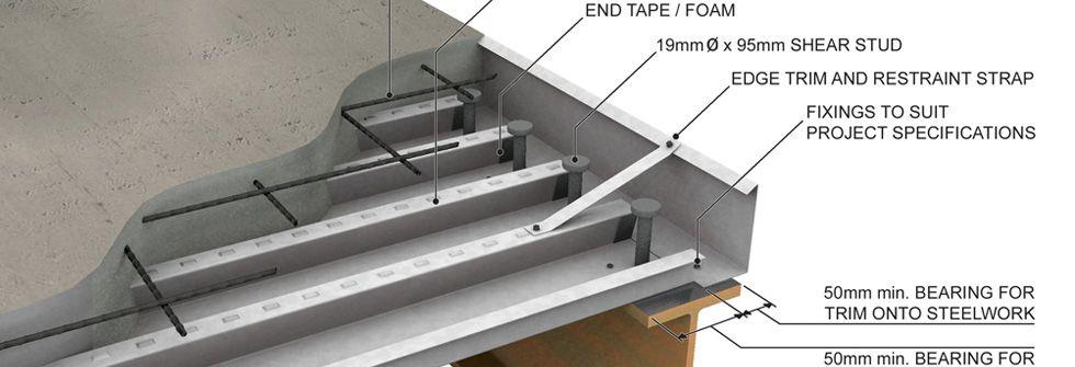 Decking Stud Services ออกแบบและติดตั้ง Steel Deck Metal