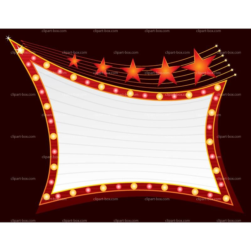 Now Showing Marquee Sign Clipart | moulin rouge | Marquee ...