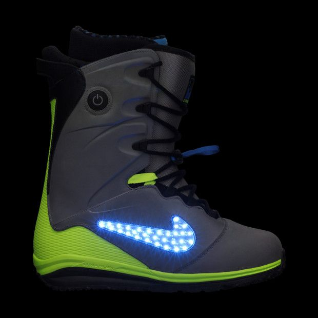 Light Up SnowBoarding Boots I'll take a pair please