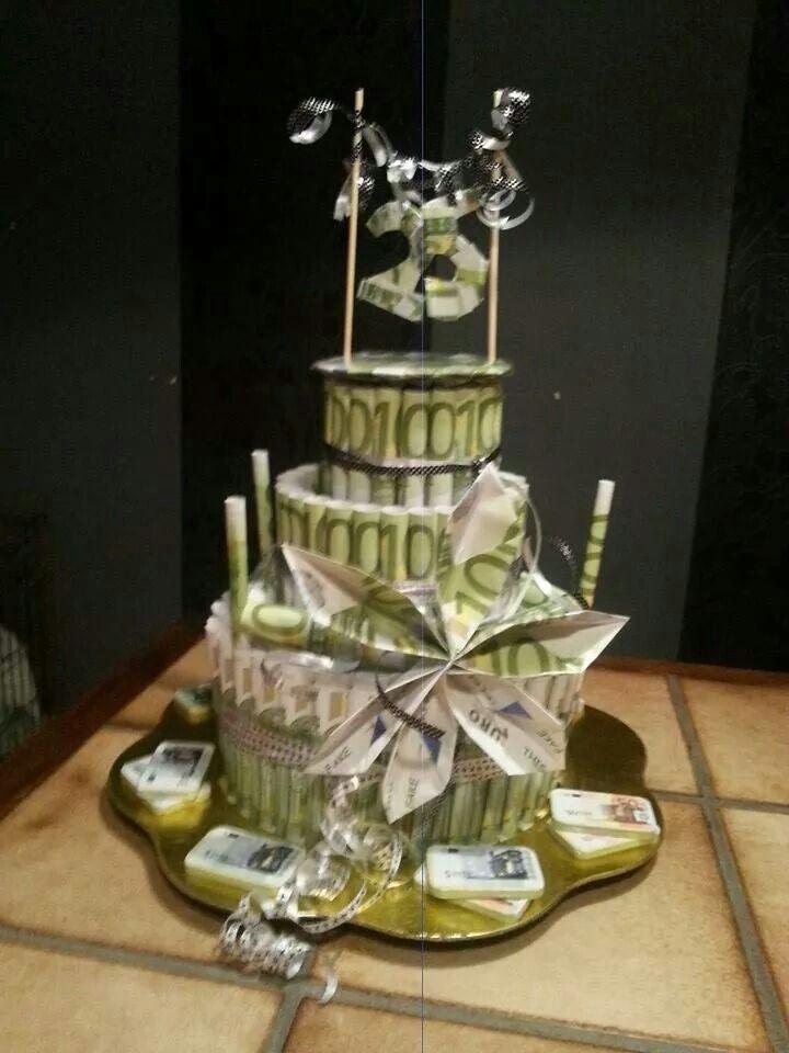 Action geld taart knutselen pinterest en