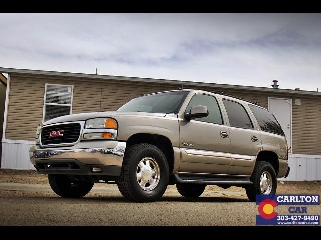 Used 2003 Gmc Yukon 4wd For Sale In Lakewood Co 80214 Carlton Car