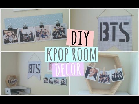 diy kpop room decor exo edition youtube - Room Decorations Diy Pinterest