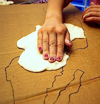 3D Salt Dough Maps for Kids | Education that I love | Pinterest ...