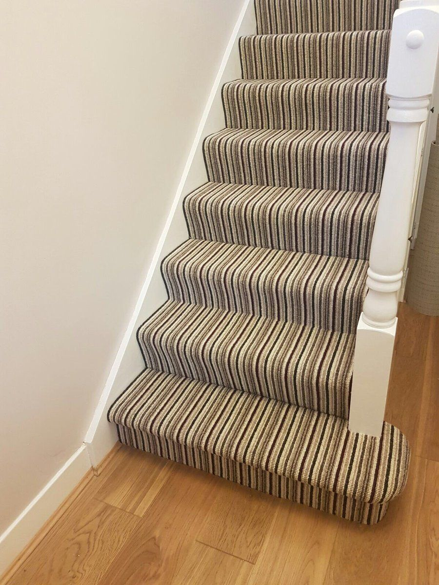Best A Carpet Fitted On The Stairs By Csl Flooring Distributed 400 x 300