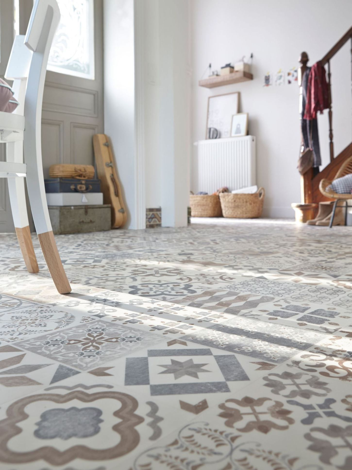 Source Tarkett Via Cote Maison Modern Tiles Vinyl Flooring Flooring