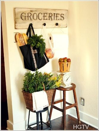 Cottage Home Decorating Ideas Large Vintage Signs Are One Of My Favorite Kitchen Wall Decor