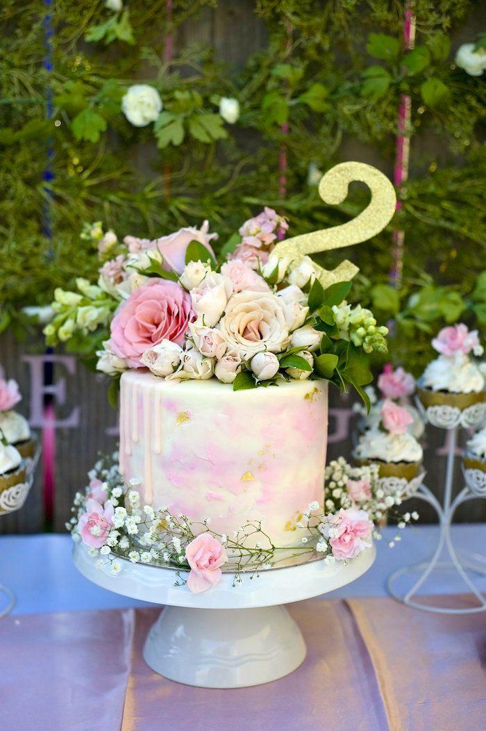 Secret Garden 2nd Birthday Party Garden Party Ideas