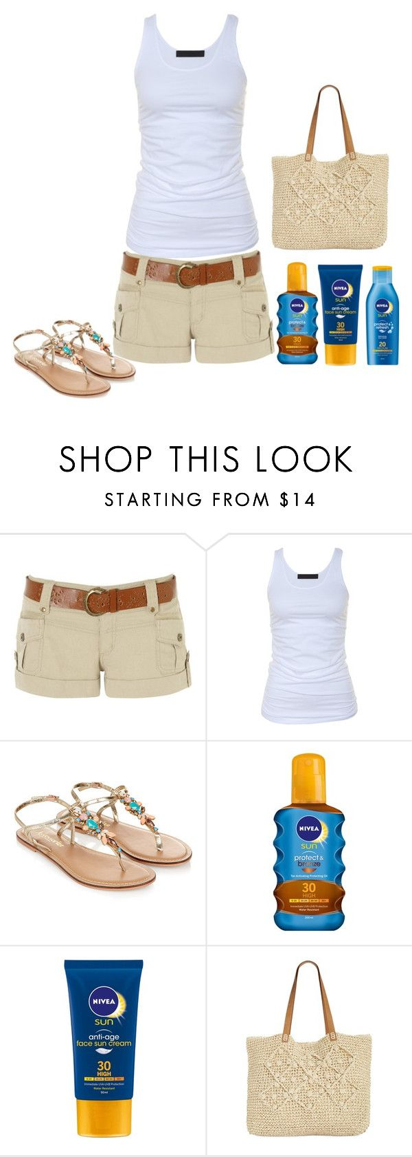 """""""Summer Outfit #10"""" by sunshine24-7-1 ❤ liked on Polyvore featuring Jane Norman, Tusnelda Bloch, Monsoon, Nivea and Straw Studios"""