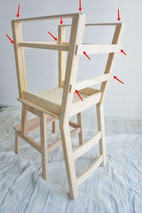 Bekväm Ivar Ikea Hack Lerntum learning tower bauanleitung anleitung ...