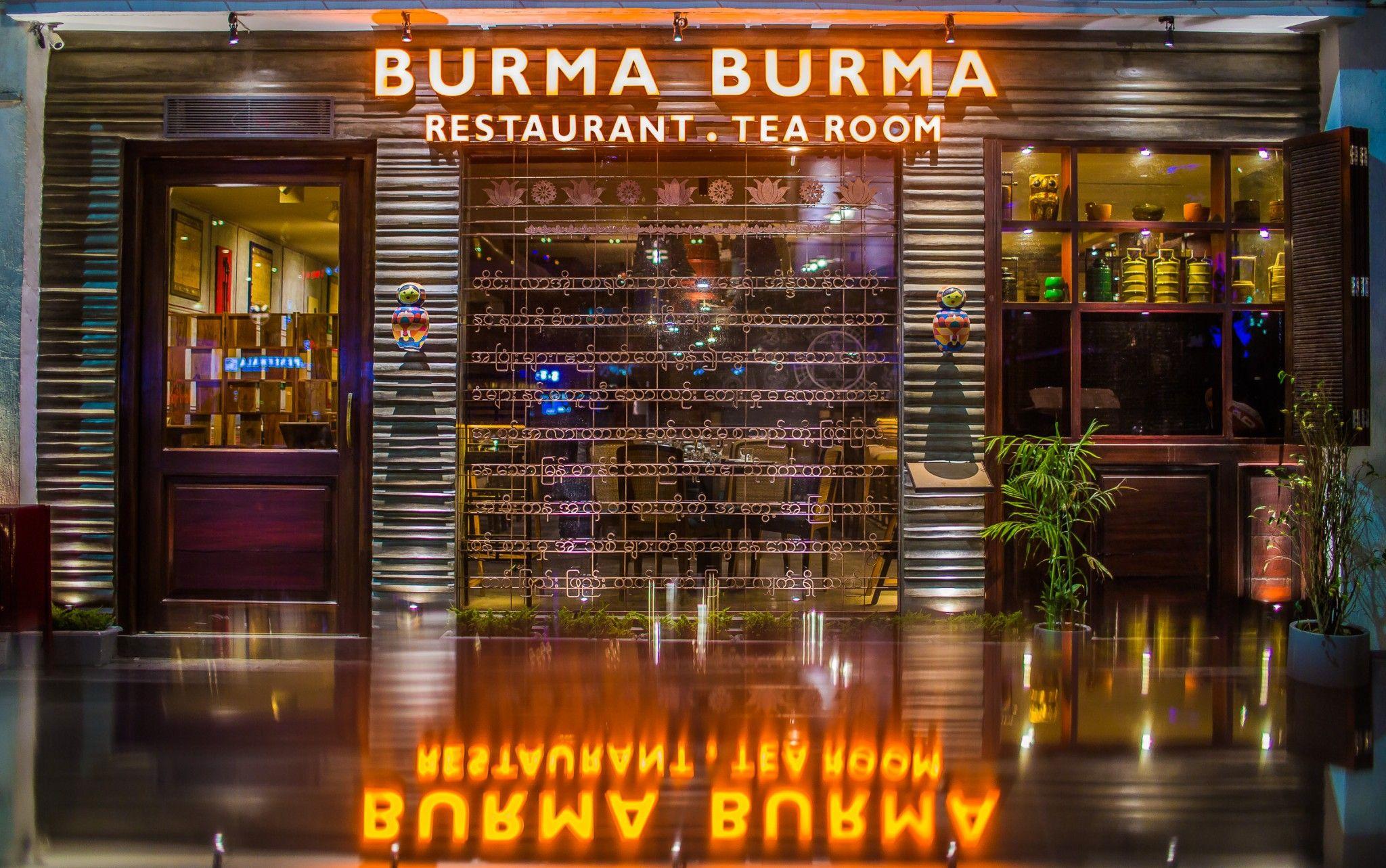 BURMA BURMA IN CYBERHUB, GURGAON !! #burmaburma #cyberhub #foodandnetwork
