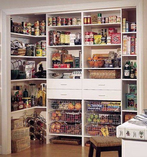 kitchen pantry organization ideas_02 Kitchen  Pantry Pinterest