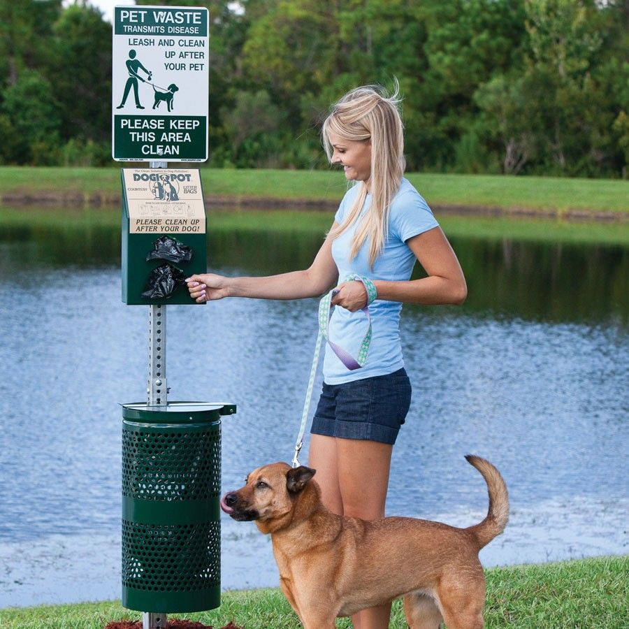 DogiPot® Pet Waste Stations helps to keep your facility a