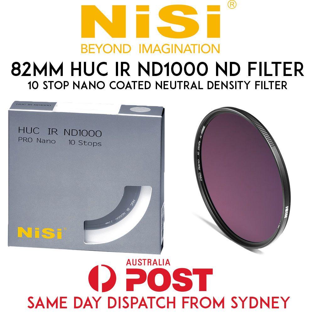 Nisi 82mm Nano Huc Ir Nd 1000 Neutral Density Filter Nd1000 30 10 Kit For Phantom 4 Pro Stop
