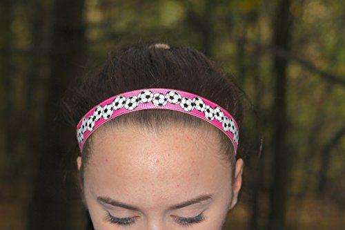 Soccer Headbands For Girls Sport Headbands For Women Pink Soccer Head Bands Soccer Team Gifts Read More Review Headbands Headbands For Women Soccer Headbands