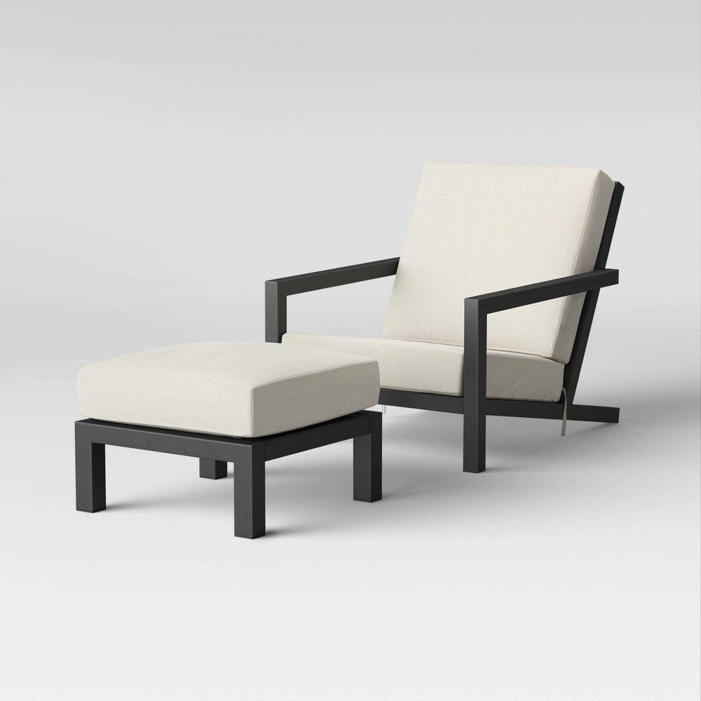 Asti Adirondack Patio Club Chair Ottoman Set Project 62 In 2020 Chair And Ottoman Set Chair And Ottoman Ottoman Set
