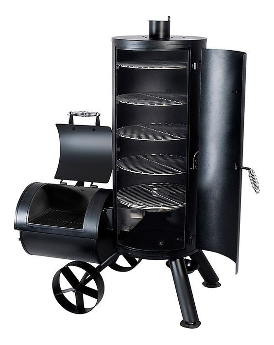 Brinkmann Vertical Trailmaster Smoker And Grill Bass Pro Shops Custom Bbq Pits Homemade Smoker Barbecue Smoker