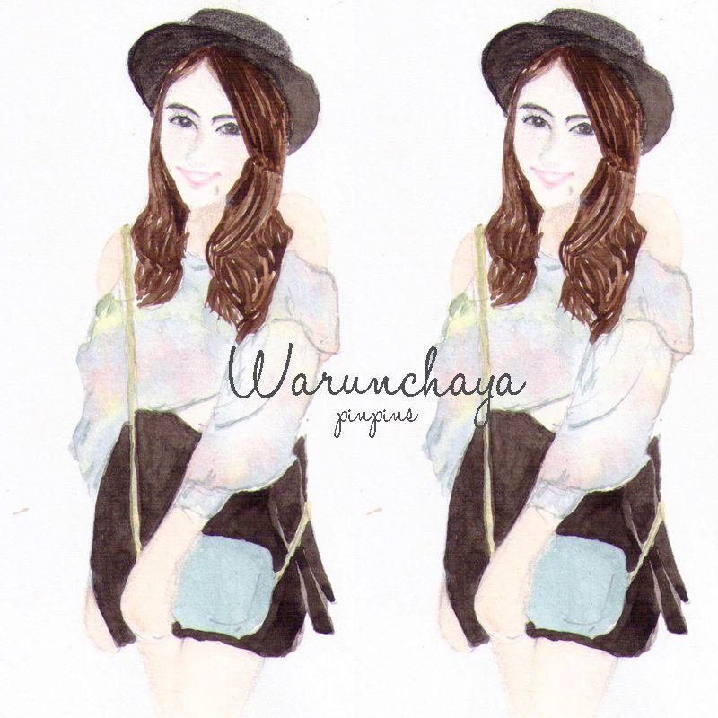 Bu miss / design photoshop watercolor ♥