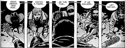 Negan & Lucille Comics