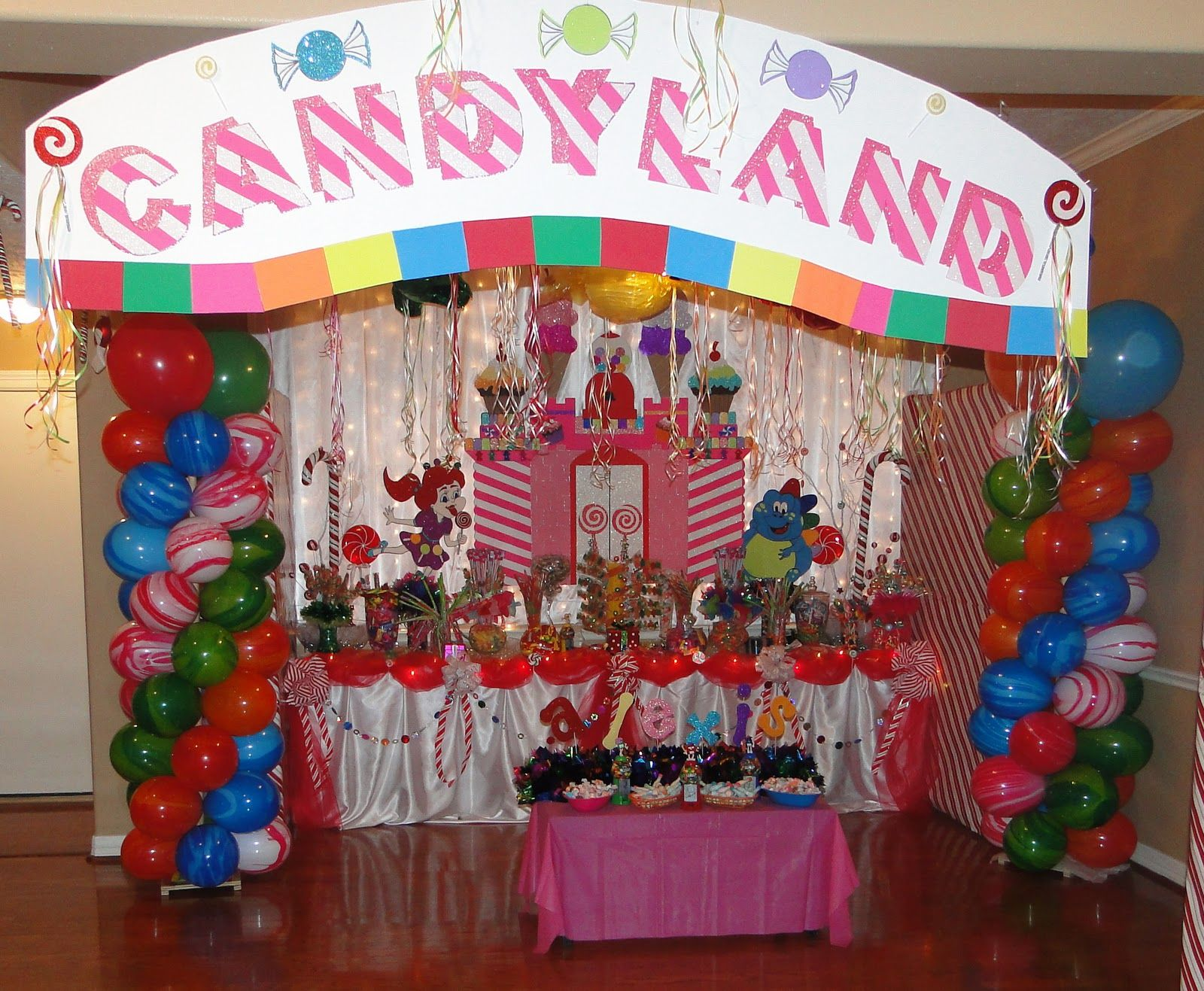 Nice Candyland Themed Decorating Ideas Part - 3: Candyland Party Ideas | ... Creations Designed By Maria: Candyland Themed  Birthday Party