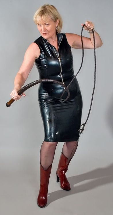 Serious leather bondage gear