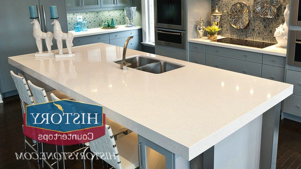Charming Quartz Countertops Prices Kitchen Craftsman With Dark Wood Column  Traditional Artificial Flowers