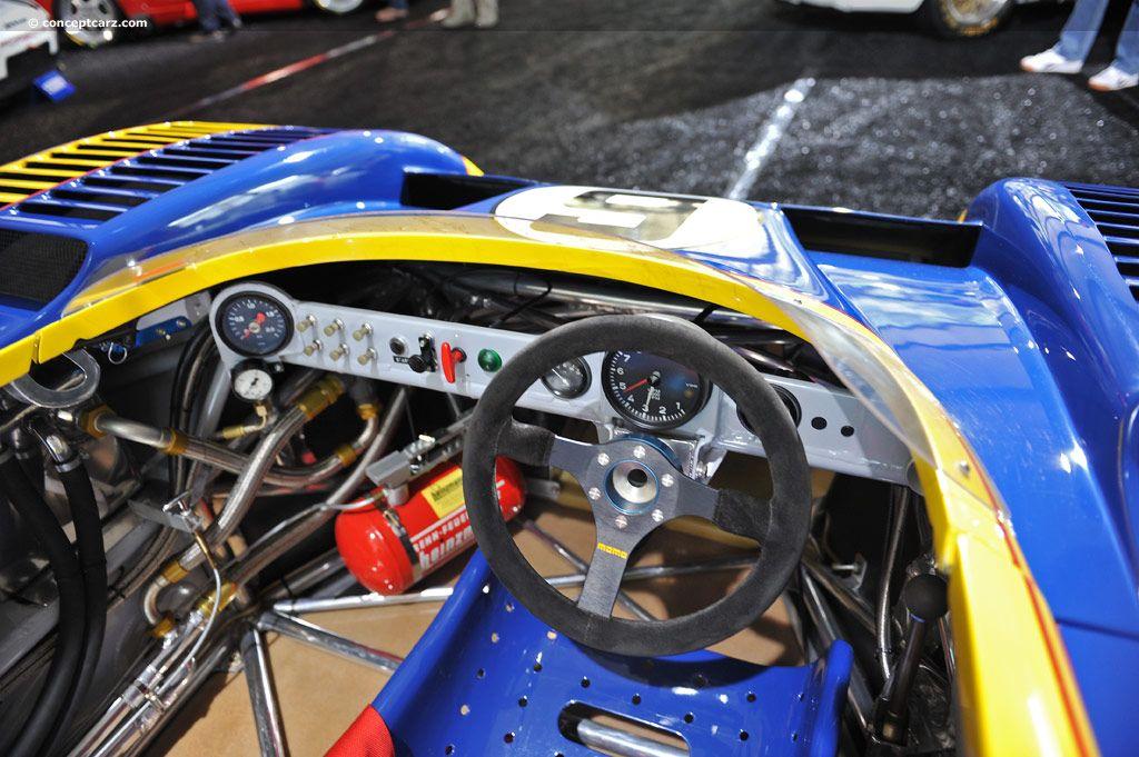 porsche 917/30 -cockpit