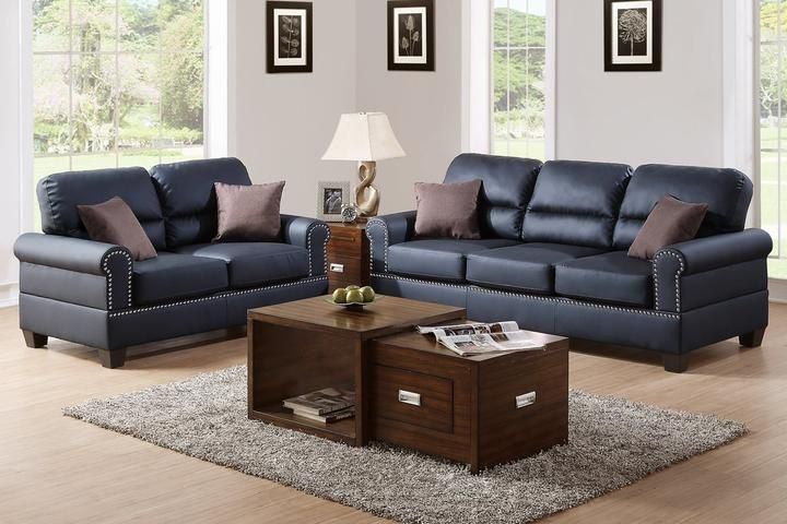 2 Piece Living Room Set Sofa Couch Loveseat Furniture In 2019