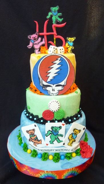 Grateful Dead Grooms cake idea, I think this could be it! Should it ...