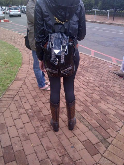 cool bag, and boots