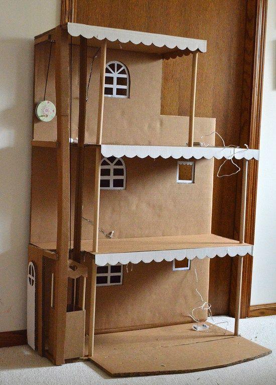 10+ Haus bauen aus karton ideen