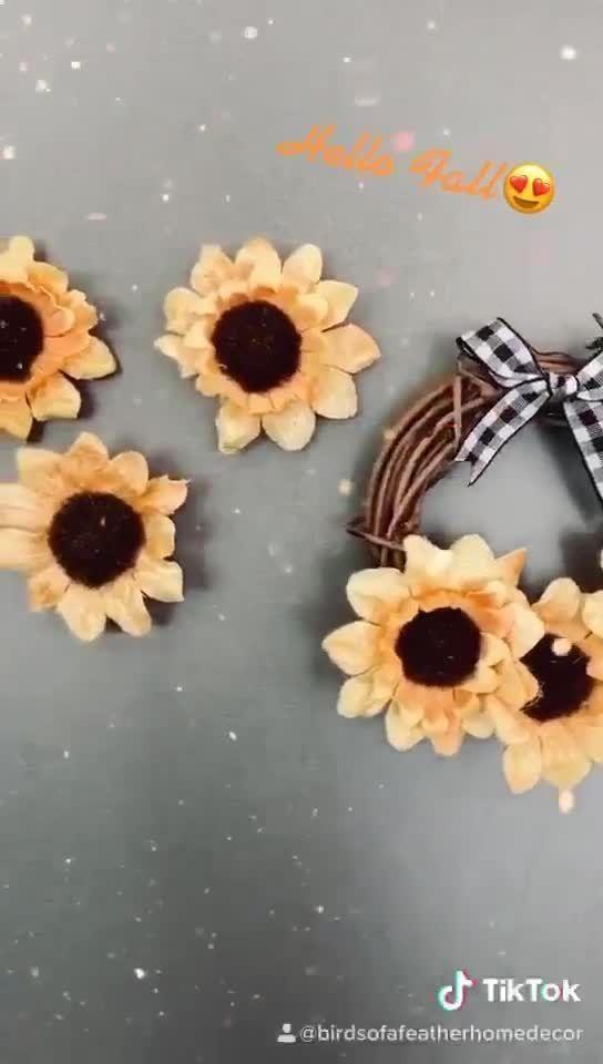 Sunflower Fall Home Decor