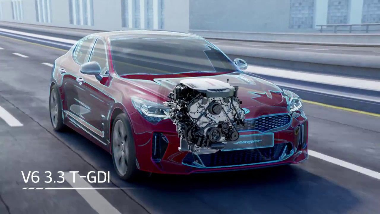 A V6 3 3 T-GDI engine that will fill your drive with performance and