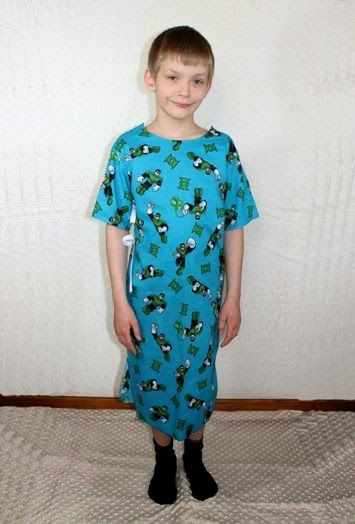 Create Kids Couture: Free Pattern: Child\'s Hospital Gown   For The ...