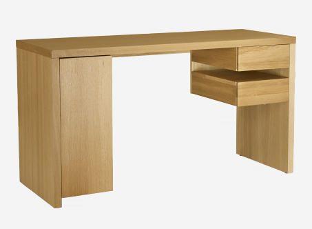 Tanna bureau en chêne meubles pas cher pinterest bureaus et