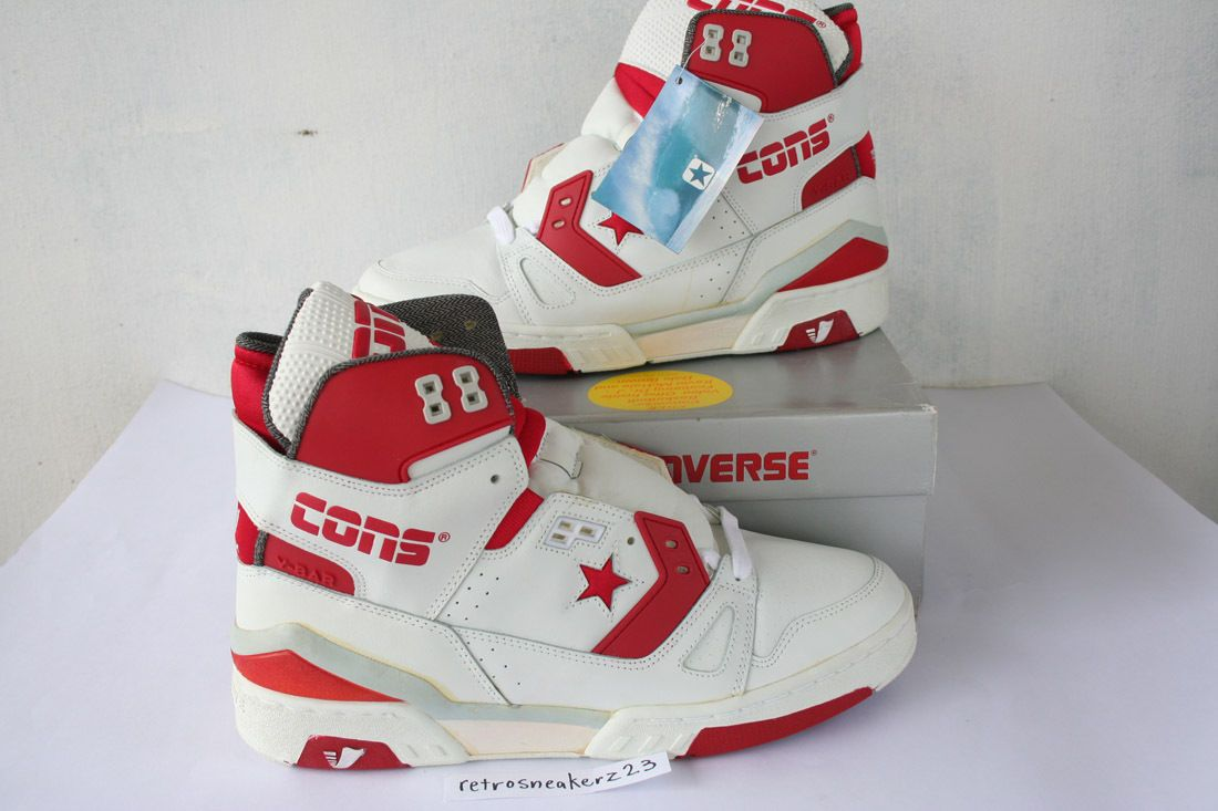 1987 DS Men's Converse Cons ERX 260 Hi Basketball 12 5 White