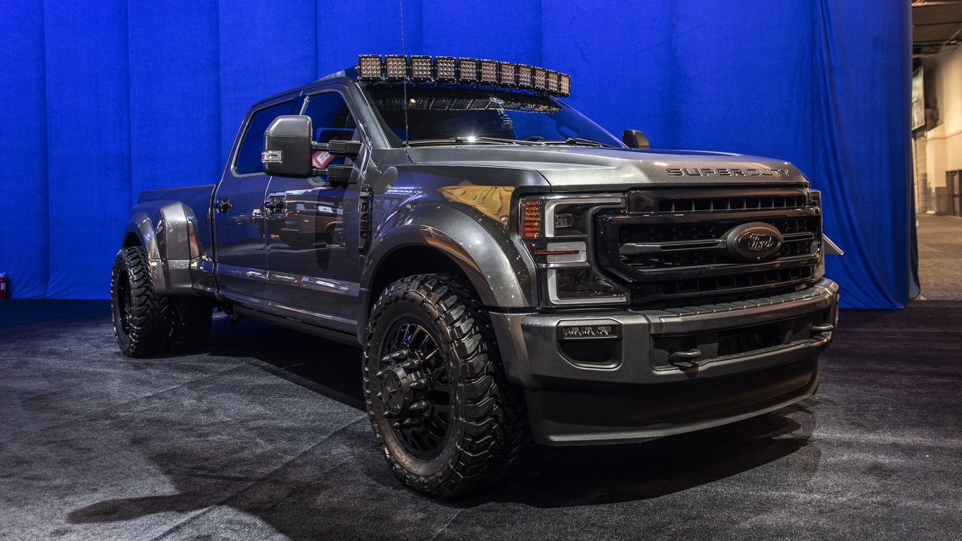 2020 Ford Super Duty Builds To Feature In Ford S 2019 Sema Lineup In 2020 Ford Super Duty Ford Super Duty Trucks Super Duty Trucks