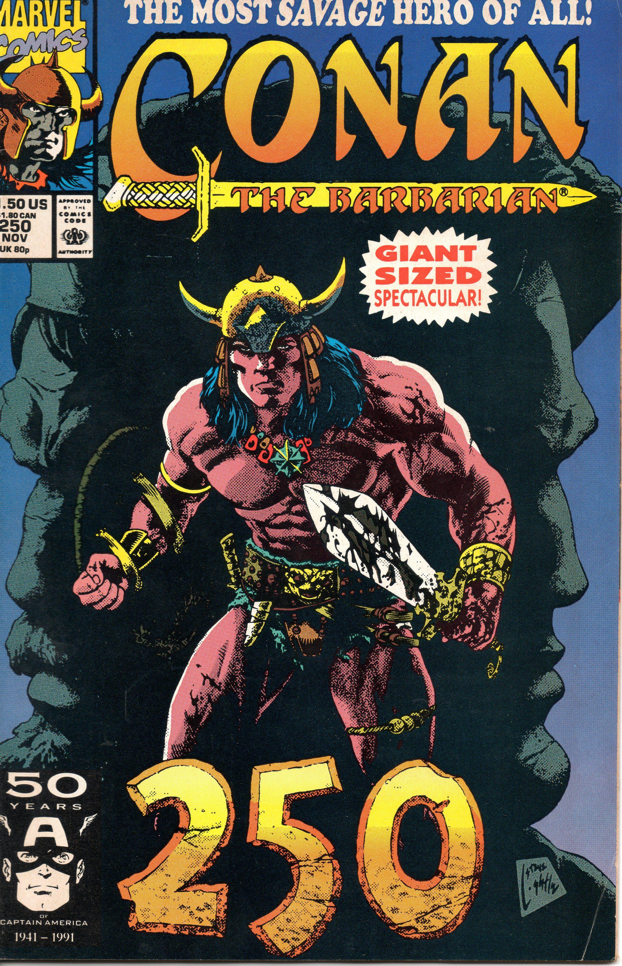 Conan The Barbarian #250.