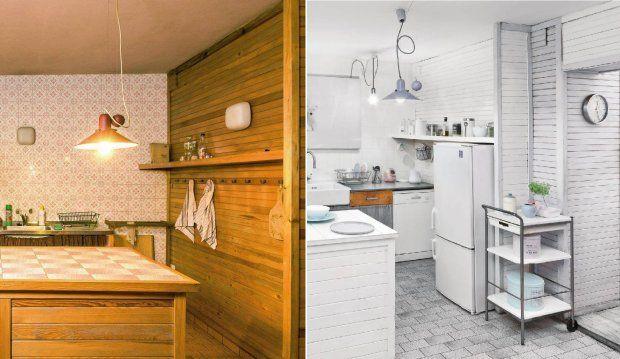 Metamorfoza kuchni w stylu skandynawskim  Metamorfozy wnętrz  Pinterest